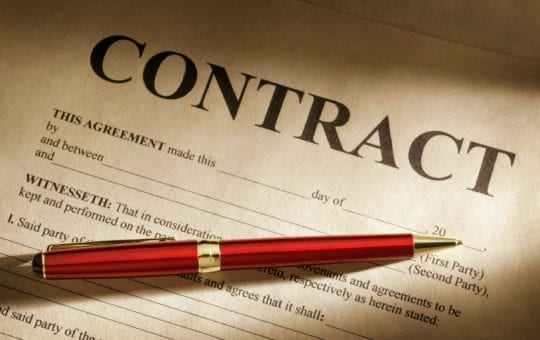Solicitors Contract